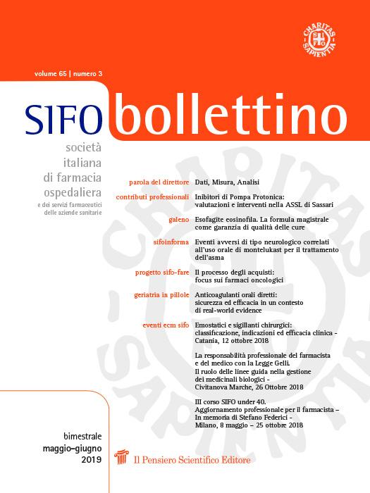 2019 Vol. 65 N. 3 Maggio-Giugno