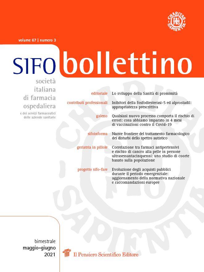 2021 Vol. 67 N. 3 Maggio-Giugno